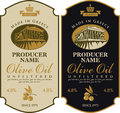 Label For Olive Oil Made In Greece Stock Photography - 70628302