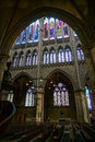 METZ, FRANCE/ EUROPE - SEPTEMBER 24: Interior View Of Cathedral Stock Photos - 70628573