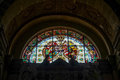 ARCO, TRENTINO/ITALY - MARCH 28 : Stained Glass Window In The Co Stock Photo - 70634160