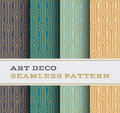 Art Deco Seamless Pattern 05 Royalty Free Stock Photography - 70639727