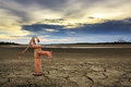 Rusty Water Pump On Land. Royalty Free Stock Images - 70648179