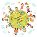 Planet Of Childre Royalty Free Stock Photo - 70652695