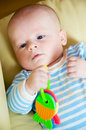 Thoughtful Baby Stock Photography - 7078122