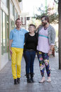 Trio Of Gender Fluid Young People Stock Photos - 70710763