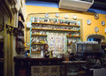 Bar Counter Of Els Quatre Gats Cafe In Barcelona, Spain Stock Photography - 70715052