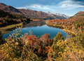 Autumn Colors In Bariloche, Patagonia, Arge Royalty Free Stock Photos - 70731038