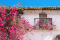Detail Traditional Old Spanish House Spain Stock Photography - 70734372