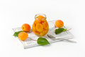 Jar Of Apricot Compote Stock Photos - 70745683