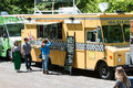 Food Trucks Serve Customers At Atlanta Springtime Festival Royalty Free Stock Image - 70757996