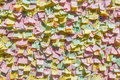 Colorful Notes On A Wall Royalty Free Stock Photo - 70765165