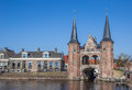 Water Gate In The Historical City Sneek Stock Images - 70773404