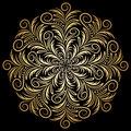 Mandala Gold, Tribal Stock Photo - 70776090