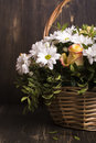 Basket Of Flowers Royalty Free Stock Photography - 70792987