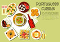 Bright National Dishes Of Portuguese Cuisine Icon Royalty Free Stock Photos - 70813698