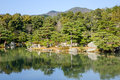 Japanese Garden With The Lake In Kyoto, Japan Royalty Free Stock Photography - 70814557