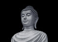 Old Portrait Buddha Statue Royalty Free Stock Photo - 70849175