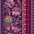 Vector Colorful Border. Floral Decorative Pattern. Stock Photos - 70854683