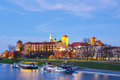 Wawel Castle In Krakow, Poland Stock Image - 70870771