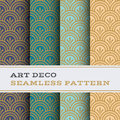Art Deco Seamless Pattern 04 Royalty Free Stock Images - 70878739