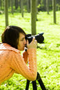 Female Photographer Royalty Free Stock Photos - 7099288