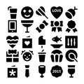 Celebration And Party Vector Icons 5 Royalty Free Stock Photography - 70927817