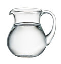 Water Pitcher Isolated On White. With Clipping Path Stock Image - 70932401