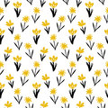 Seamless Floral Pattern With Small Flowers Stock Photos - 70944993