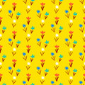 Seamless Floral Pattern With Small Flowers Royalty Free Stock Image - 70945656