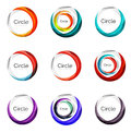 Set Of Abstract Swirls And Circles, Logo Collection Stock Photos - 70959583
