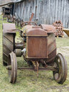 Rusty Retro American Tractor Fordson Stock Images - 70980954