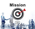 Mission Goals Target Aspirations Motivation Strategy Concept Stock Photography - 70984022