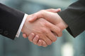 Shake-hands Royalty Free Stock Photo - 714165