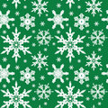 Vector. Seamless Ornament With Snowflakes Royalty Free Stock Photos - 7101298