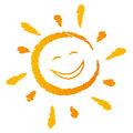 Laughing Sun Vector Stock Images - 71008324