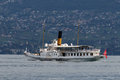 MONTREUX, SWITZERLAND/ EUROPE - SEPTEMBER 15: Vevey Steaming Alo Royalty Free Stock Photography - 71020877