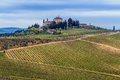 Val D Orcia Farm. Royalty Free Stock Photography - 71040727