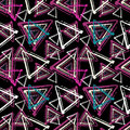 Graffiti Small Psychedelic Seamless Pattern Vector Illustration Stock Photography - 71072042