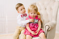 Boy Hugging Girl Royalty Free Stock Photography - 71081027