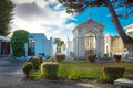 Punta Arenas, Chile - June 14th 2013 - The Famous Architecture Of The Public Cemetery Of Punta Arenas, Chile Stock Images - 71091184