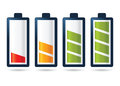 Batery Power Life Stages Icon Stock Photography - 71098662