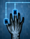 Hitech Hand Stock Photo - 7113780