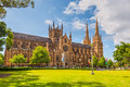 St Mary S Cathedral, Sydney Stock Images - 71103624