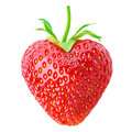 One Strawberry Heart Royalty Free Stock Photos - 71138208