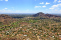 Paradise Valley & Camelback Mountain Stock Photo - 71143810