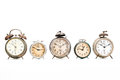 Collection Of Old Alarm Clocks Royalty Free Stock Photos - 71150158