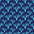 Seamless Pattern Background With Hand Drawn Palm Trees, Summer Semless, Background, Vector Illustration Stock Images - 71152824