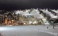 Collingwood Hotel And Slopes Under Lights Royalty Free Stock Images - 71159739