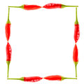 Red Hot Chili Peppers Picture Frame Royalty Free Stock Images - 71167389