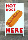 Hot Dogs For Sale Sign Stock Photos - 71189873
