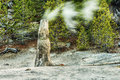 Monument Geyser Basin Spire Royalty Free Stock Photography - 71198267